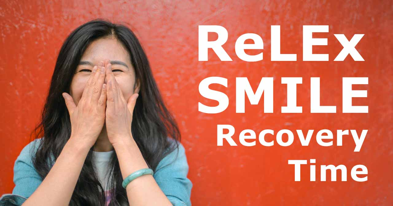 relex smile recovery time